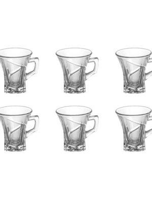 ست فنجان 6 عددی مدل لوتوس -آسان جهاز