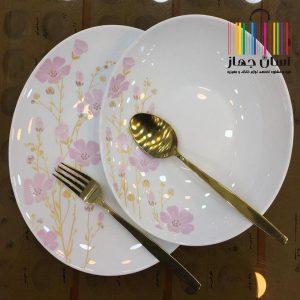 سرویس غذاخوری آرکوپال 26 پارچه مدل صوفیا بیضی