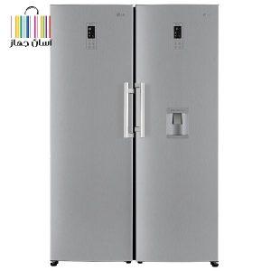 یخچال فریزر دوقلو ال جی ۴۰۱ / ۴۰۴ بهترین در ساخت و طراحی با قیمتی کامل اقتصادی
