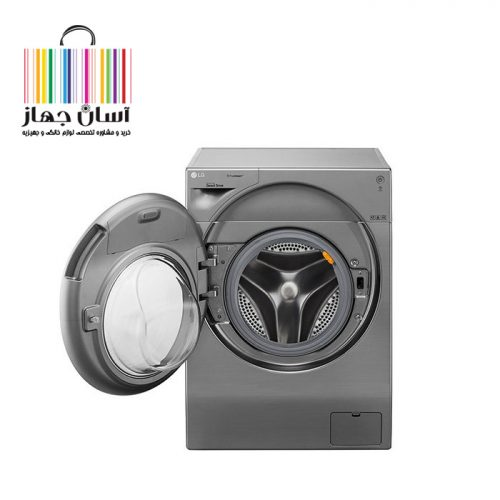 ماشین لباسشویی 10.5 کیلویی ال جی مدل FH4G1JCHK6N