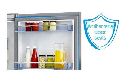 دستگیره ضد باکتری درب « Anti-Bacterial » تکنولوژی Active Fresh Blue Light محفظه ۰ ° C