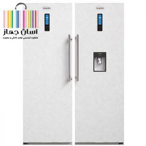 یخچال و فریزر دوقلوی الکترو استیل مدل ES24 Twin Refrigerator