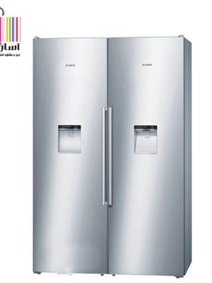 یخچال فریزر دوقلو بوش مدل KSW36AI304 – GSD36AI204