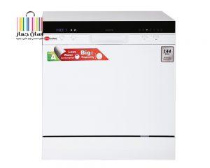ماشین ظرفشویی 8 نفره کرال مدل DS-8007I