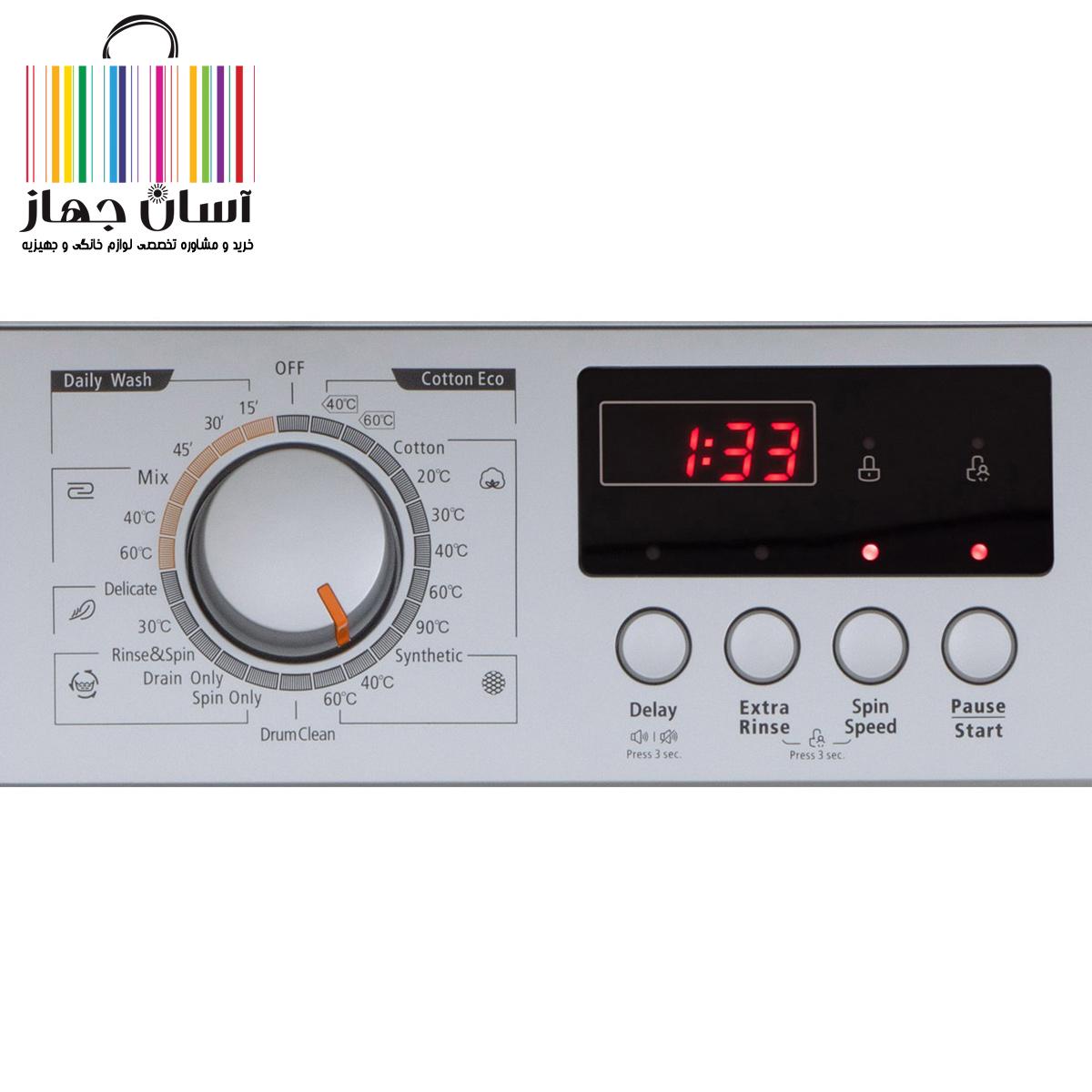 ماشین لباسشویی پاکشوما مدل WFU-6408 ST