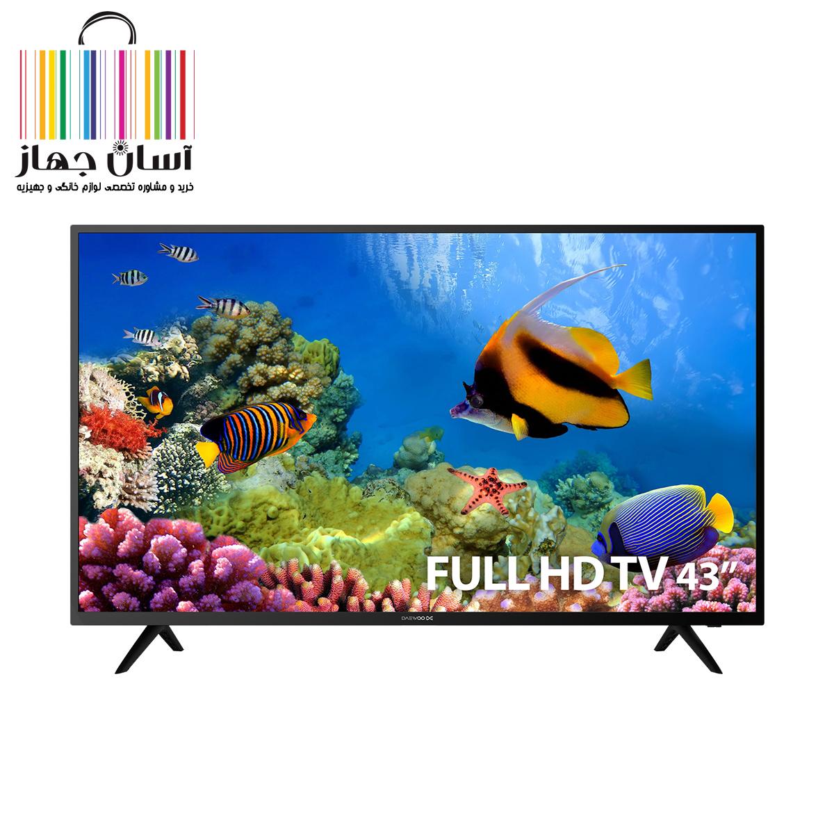 تلویزیون 43 اینچ دوو مدل DLE-43K4100B