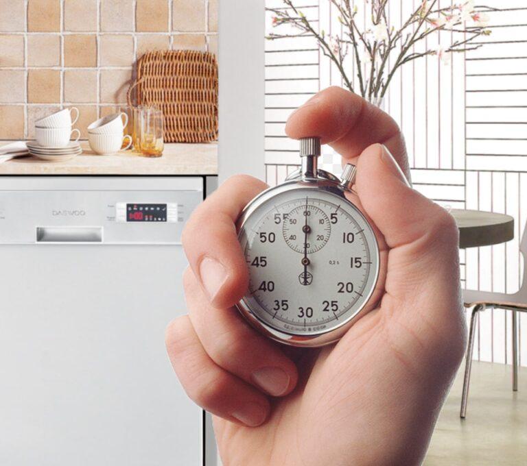 ماشین ظرفشویی دوو مدل DWK-2560 - زمانسج 60 دقیقه ای
