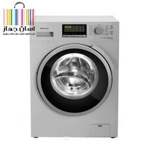 ماشین لباسشویی هایسنس مدل WFH8012 ظرفیت 8 کیلوگرم