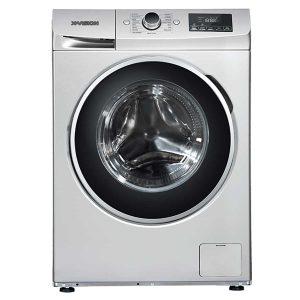 ماشین لباسشویی ایکس ویژن مدل WA80-AW/AS ظرفیت 8 کیلوگرم در دو رنگ استیل و سفید