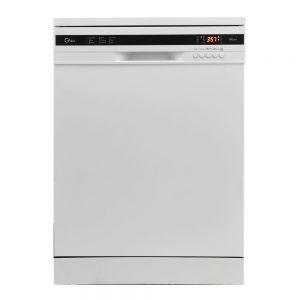 ماشین ظرفشویی جی پلاس مدل GDW-K351W با ظرفیت 13 نفر در دو رنگ سفید و تیتانیومی