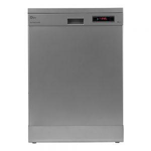 ماشین ظرفشویی جی پلاس مدل GDW-J441S با ظرفیت 14 نفر در دو رنگ استیل و نقره ای